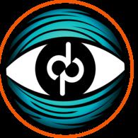 Beton lampe - Guld